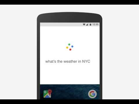 New Google Now / Search animation in Android with new Google logo