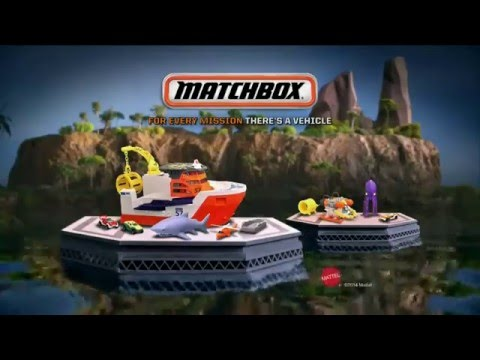 Matchbox - Mission - Marine Rescue Shark Ship - BFN57