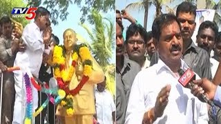 Deputy CM and Minister of Excise Department Narayana Swamy Face to Face Over Liquor Ban in AP | TV5