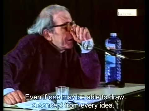 Gilles Deleuze on Cinema: What is the Creative Act 1987 (English Subs)