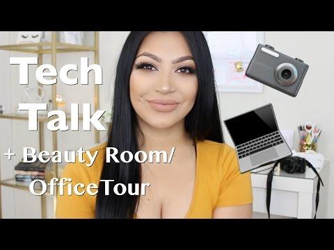 Tech Talk + Beauty Room/Office Tour