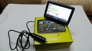 Tomtom VIA 125 GPS Navigation Device Review And Video Demo