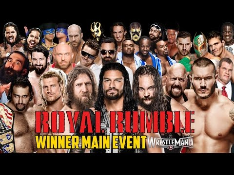 Wwe Royal Rumble 2015 - Royal Rumble Match - Wwe 2k15 video