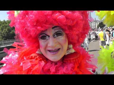 CSD 2013 [NTOI] Priscilla (Hamburg) Fifi (Berlin) Cologne Pride   TV.NEWS-on-Tour.de