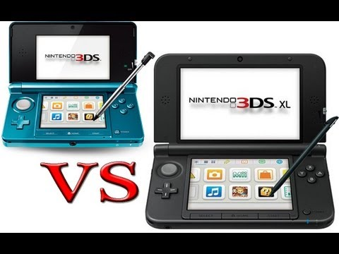 Nintendo 3DS vs Nintendo 3DS XL