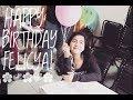 Keeping Up With Felicya   Happy Birthday Felicya!