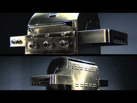 SABER Infrared Gas Grill Technology