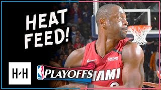 Dwyane Wade VINTAGE Full Game 2 Highlights Heat vs 76ers 2018 Playoffs - 28 Points, DAGGER!