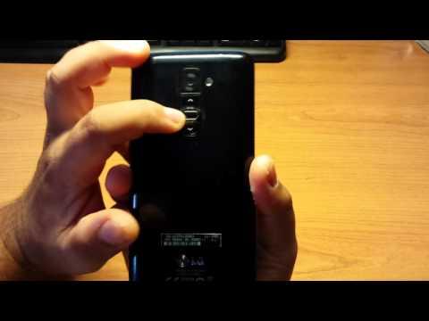 Cómo hacer captura de pantalla pantallazo screenshot en LG G2