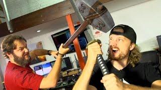Katana vs Longsword vs Hammer