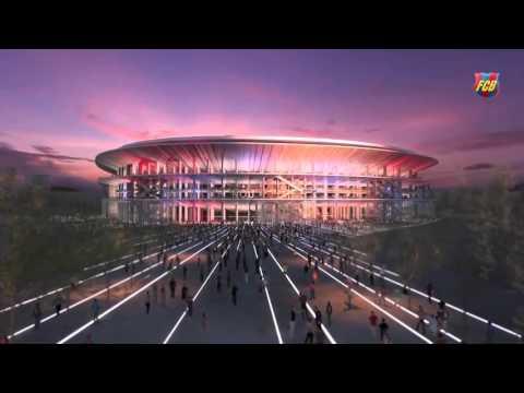 FC Barcelona New Stadium - New Camp Nou - for Barca Fans HD 1080i