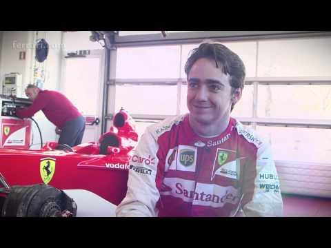 Gutierrez drives Schumacher's F2001