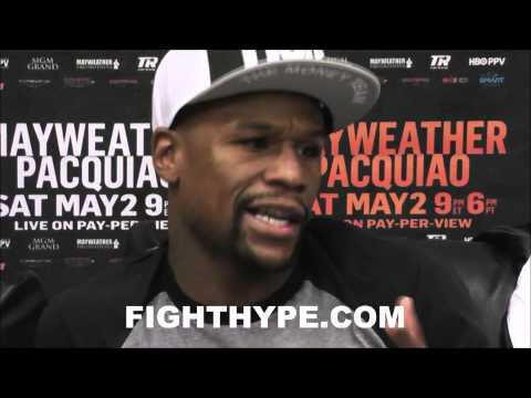 FLOYD MAYWEATHER ANALYZES MANNY PACQUIAO; SAYS HE'D BE BETTER IF HE WASN'T RECKLESS