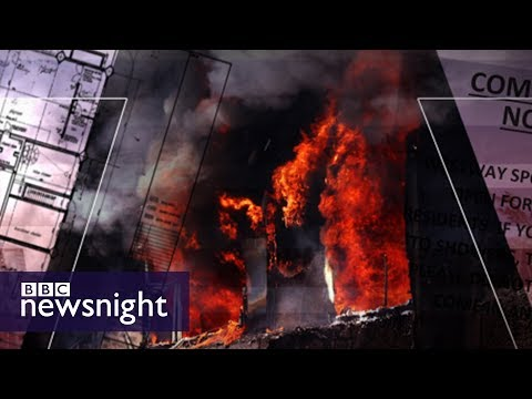 Why did the fire at Grenfell Tower spread so quickly? - BBC Newsnight