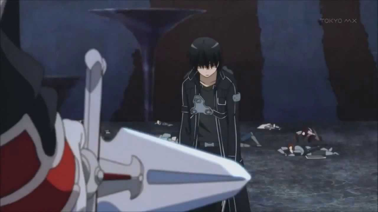 SAO Kirito vs Heathcliff final battle [AMV] - YouTube