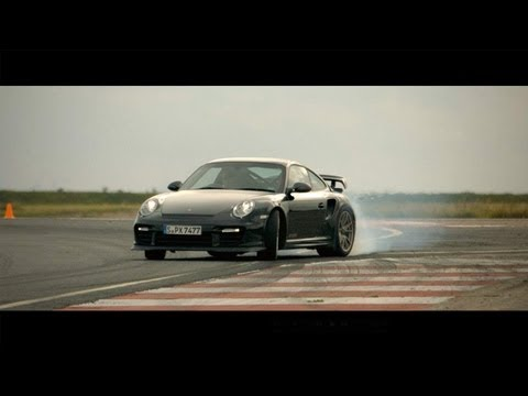 Drifting Nissan Juke-R & Porsche 911 GT2 RS  - CAR and DRIVER