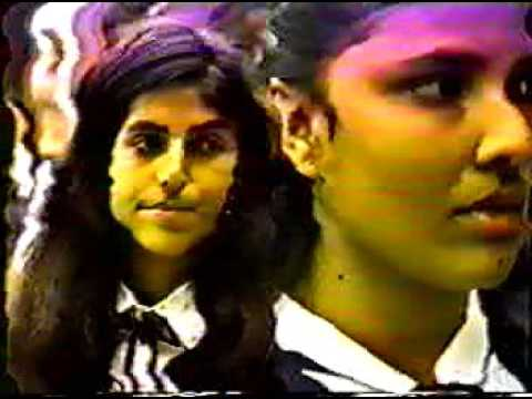 COLEGIO SUAREZ DE LA PRESENTACIÓN -ENTREGA DE BANDERAS 1993