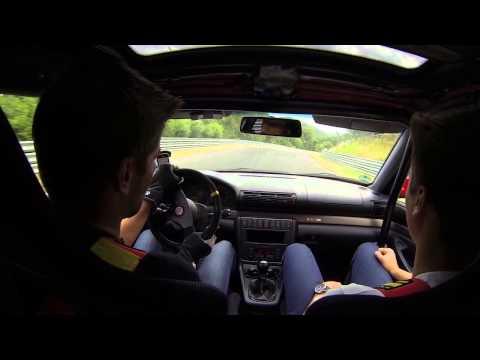 Nordschleife 06.07.2014 Audi A4 2.8 Quattro