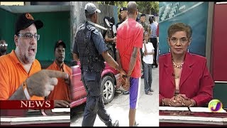 Jamaica News-Oct/14- Golding Challenges PM's Numbers On Crime In Trench Town-TVJ News