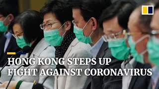 Hong Kong increases measures to contain spread of Wuhan coronavirus