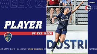 Lynn Williams, North Carolina Courage | Week 22 #NWSL Player of the Week