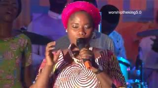 Zion Yetunde  Are at Worship the King 5 of C&SMC Amazing Grace District Headquarter