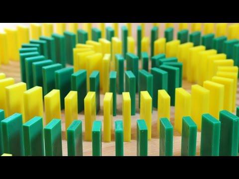 Domino Fun! (HONDA COMMERCIAL, Today Show Fun, & More!)