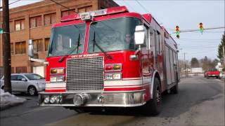 scranton fire department responding compilation  2017