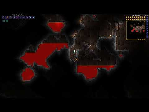 Terraria: Testing OBS + x264 vfw codec at 1920x1080 (custom resolution)