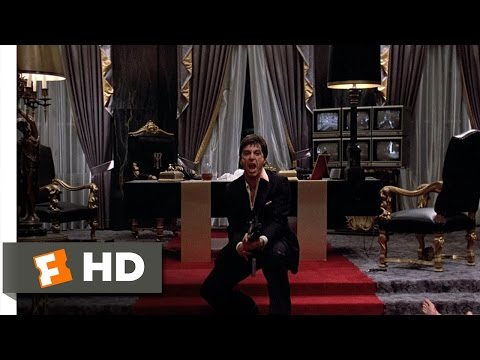 Say Hello To My Little Friend - Scarface (8 8) Movie Clip (1983) Hd video