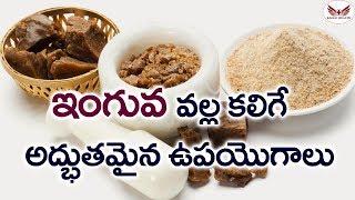 ఇంగువ వల్ల కలిగే అద్భుతమైన ఉపయోగాలు | Health Benefits of Asafoetida( Inguva) | Eagle Health