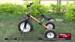 Ghanaian company manufactures bicycles out of bamboo