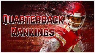 2019 Fantasy Football - Top 12 Quarterback Rankings