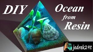 DIY! Ocean from Resin/Ocean z Żywicy