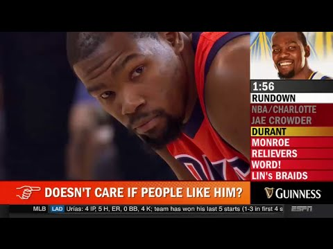 Kevin Durant Doesn't Care If People Like Him?