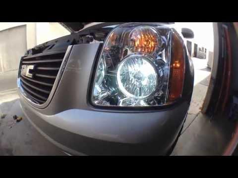 06 dakota how to change headlight bulb
