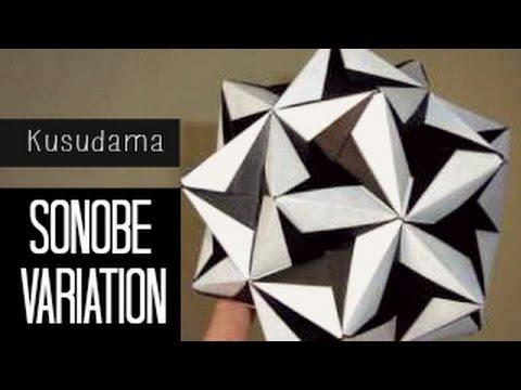 Origami Star Sonobe