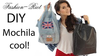 DIY Mochila de Jeans | Fashion Riot
