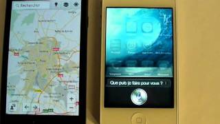Comparatif Apple iPhone 4S vs Samsung Galaxy S2 : Reconnaissance vocale