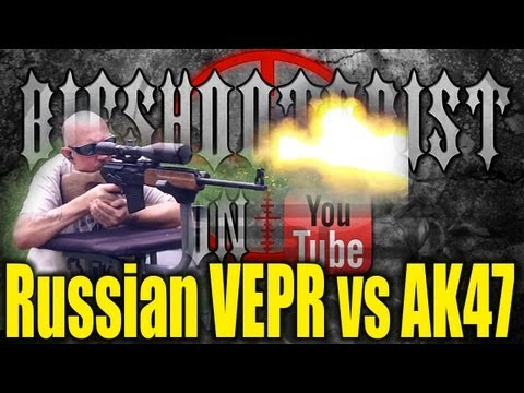 Russian VEPR vs AK47