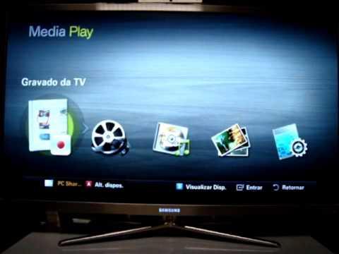 TV exibe vídeos MKV (full HD) pela rede Wi-Fi