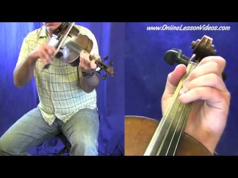 KATY HILL - [HD] - Bluegrass Fiddle Lesson by Ian Walsh