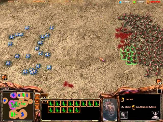 StarCraft 2 - Heart of the Swarm Beta - Minas Viúvas - Widow Mines