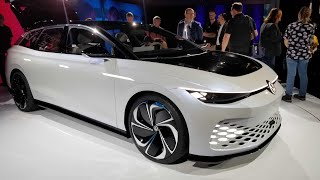 The Volkswagen Space Vizzion Brings The Wagon Into The Future | Jalopnik