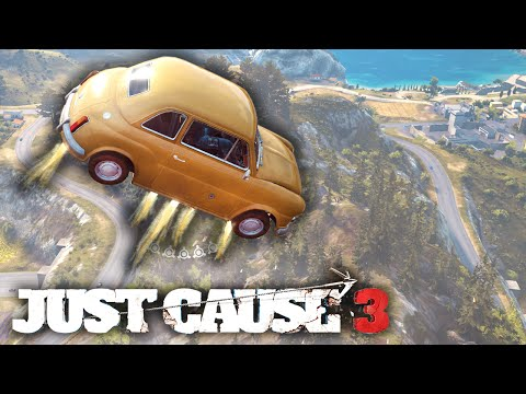 Just Cause 3 - Stunts, Fails & Funny Moments