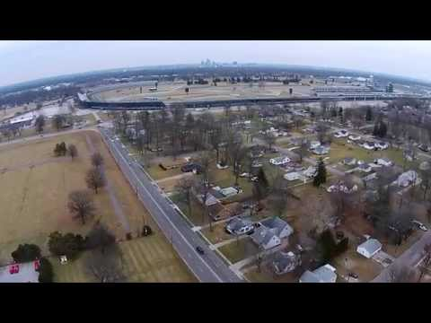 Indianapolis Motor Speedway (Drone Flyover)