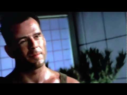 Die Hard John McClain meets Hans Gruber
