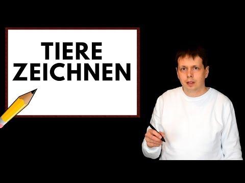 ASMR Tiere zeichnen [Deutsch] [German]