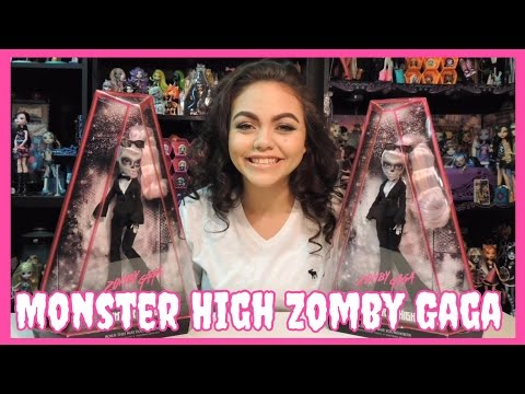 Monster High Zomby Gaga Doll Review   WookieWarrior23