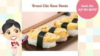 Dapur Umami - Sushi ala AJI-NO-MOTO®